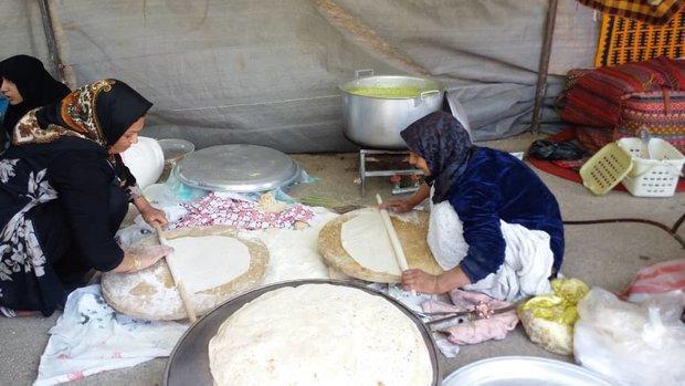 جشنواره کلوخ پزان شهرستان اقلید برگزار گردید