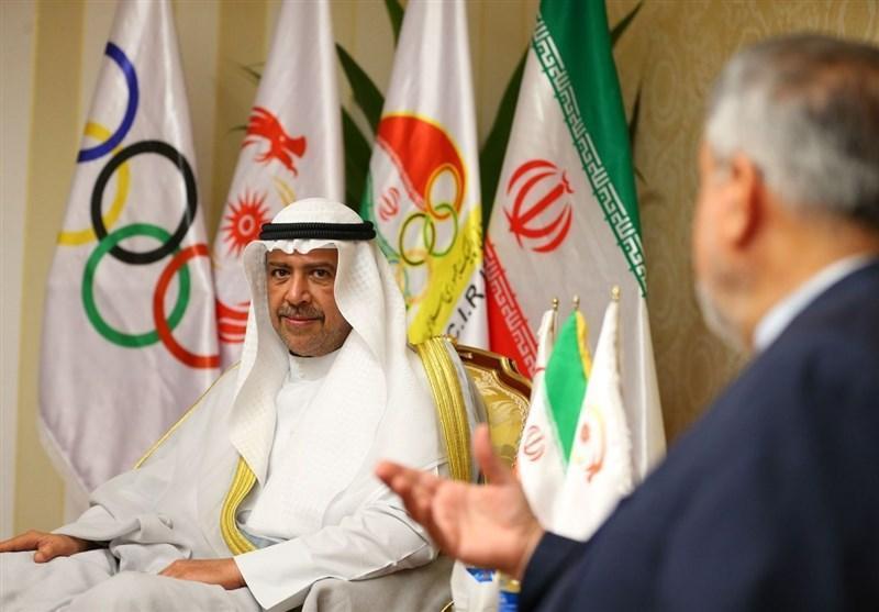 کناره گیری موقت شیخ احمد از عضویتش در کمیته بین المللی المپیک