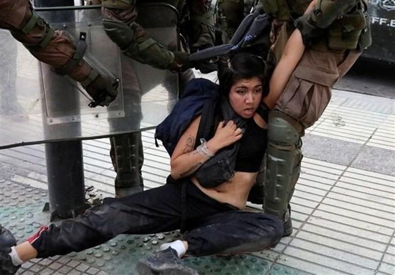 واکنش سازمان ملل به خشونت ارتش شیلی علیه معترضان