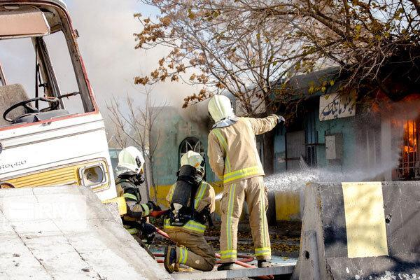 وقوع 3 آتش سوزی بر اثر بی احتیاطی در مهاباد