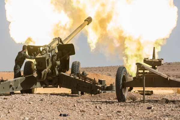 ارتش سوریه یک پهپاد متعلق به تکفیری ها را ساقط کرد